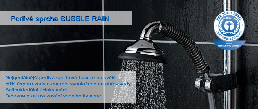 Perlivá sprcha Bubble Rain ®