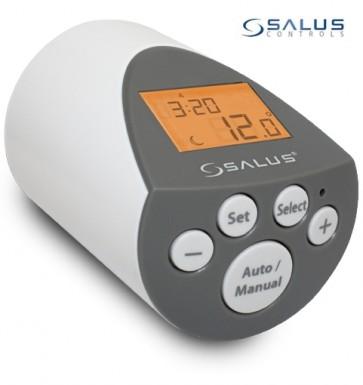 Digitální termostat na radiátory SALUS PH60 s podsvíceným displejem