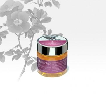 Vonný sprchový olej DOLCE ROSA pro Elixator douche WOLF - 40ml pro pěstění pleti - ylang ylang, jojoba, růžové dřevo