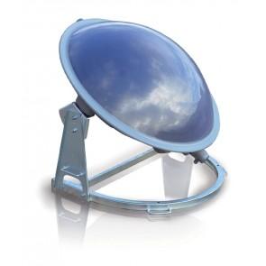 Solární termální kolektor na ohřev teplé užitkové vody NANOSOL® pro chaty, chalupy, 100 litrů
