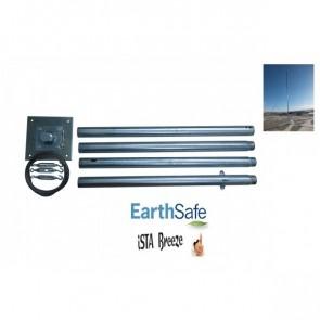 Stožár pro větrnou elektrárnu iSTA Breeze do 15 kg