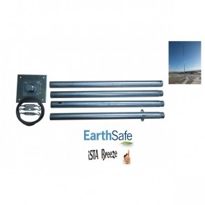 Stožár pro větrnou elektrárnu iSTA Breeze do 40 kg