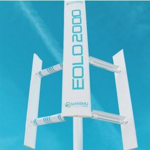 Vertikální větrná turbína MAKEMU EOLO 1kW