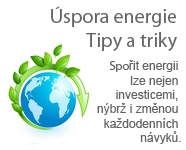 Úspora energie - Tipy a triky
