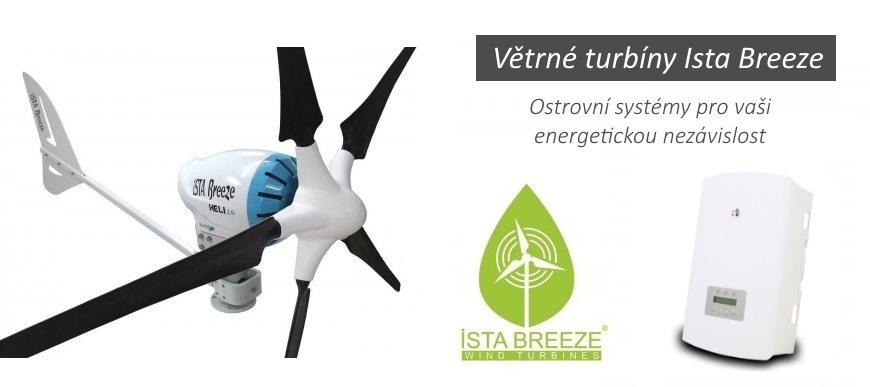 Větrné turbíny Ista Breeze